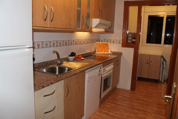 La Manga penthouse kitchen